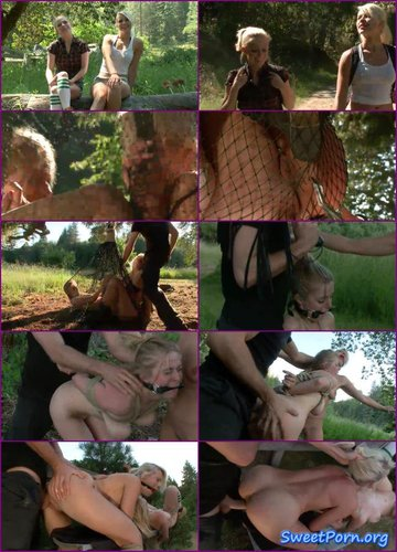 James Deen, Anikka Albrite and Penny Pax – Captured in the Woods: A Featured Presentation: Two Beautiful Blondes Brutally Fucked in the Wild