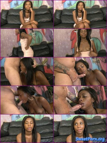 Kimber Lux – Black Girl Gagged