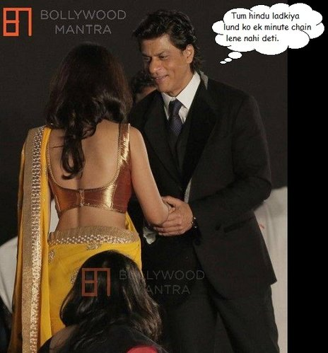 shahrukh khan affair