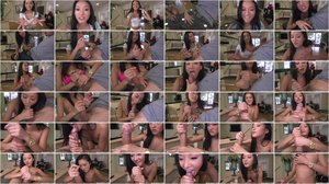 Alina Li - Cute Face Hand Job [SD 480p]