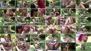 Katerina - Sunbathing Mom Seduces Son's Girlfriend [FullHD 1080p]