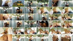Lola Taylor - Hard DP In The School Bus [FullHD 1080p]