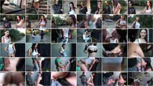 Veronica - Hot outdoor fucking for money [SD 576p]