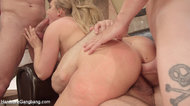 AJ Applegate takes deep anal in her round juicy ass!