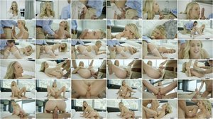 Karla Kush - Bosses Wife gets Anal from the Office Assistant [SD 480p]