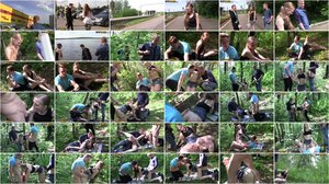 MyPickupGirls - Ginger - Thrilling Outdoor Sex in the Woods [SD 540p]
