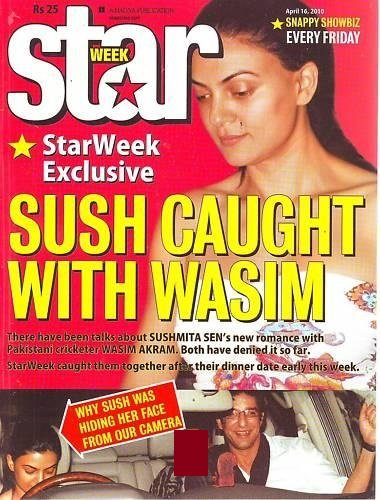 sushmita sen affair with wasim akram