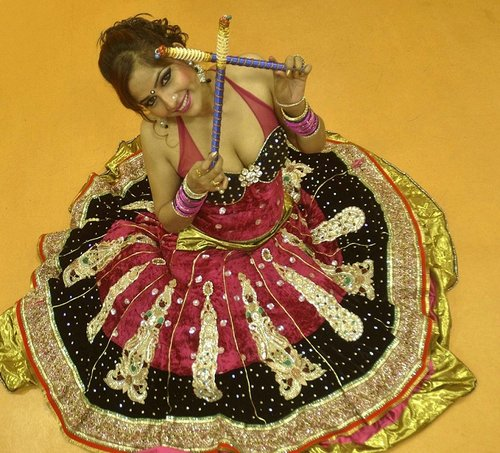 dandiya hot girls
