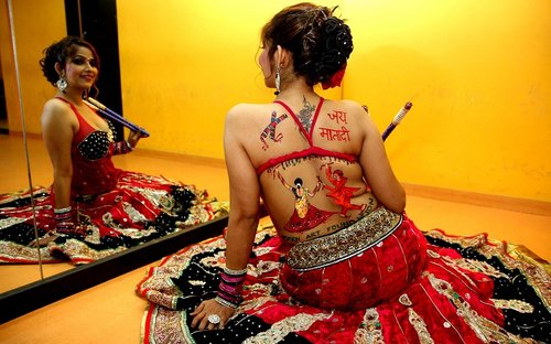 navratri hot girls