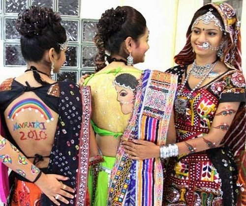 garba navratri hot