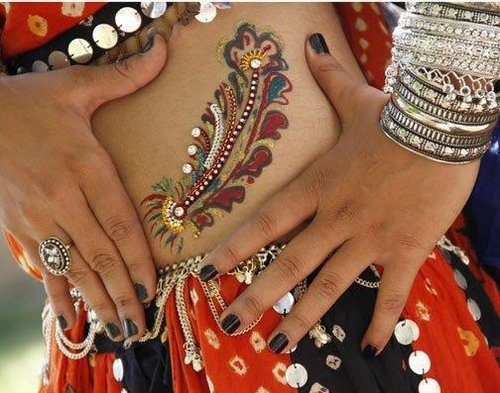 garba tattoos