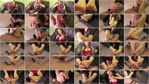 Mary-Jane - Flutschiger Footjob [FullHD 1080p]