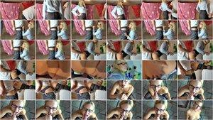 BlondeHexe - Notgeile Lehrerin entjungfert 20J. Schuler [FullHD 1080p]