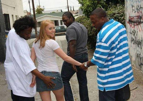 white teen blacked
