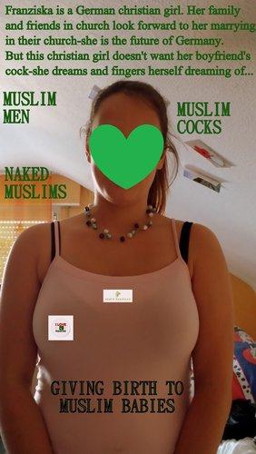german girl arab cock